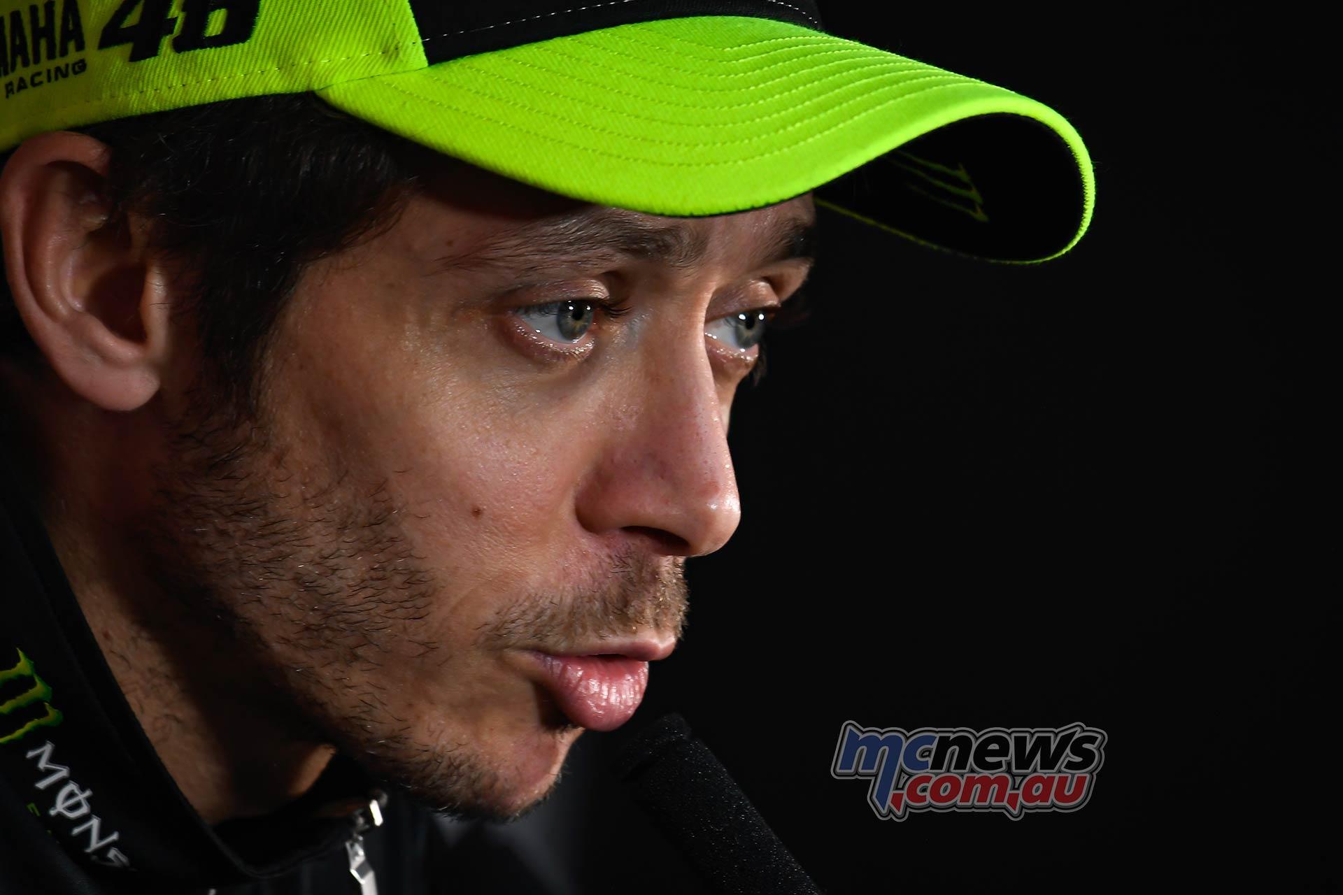 Jorge Lorenzo Retires Rossi