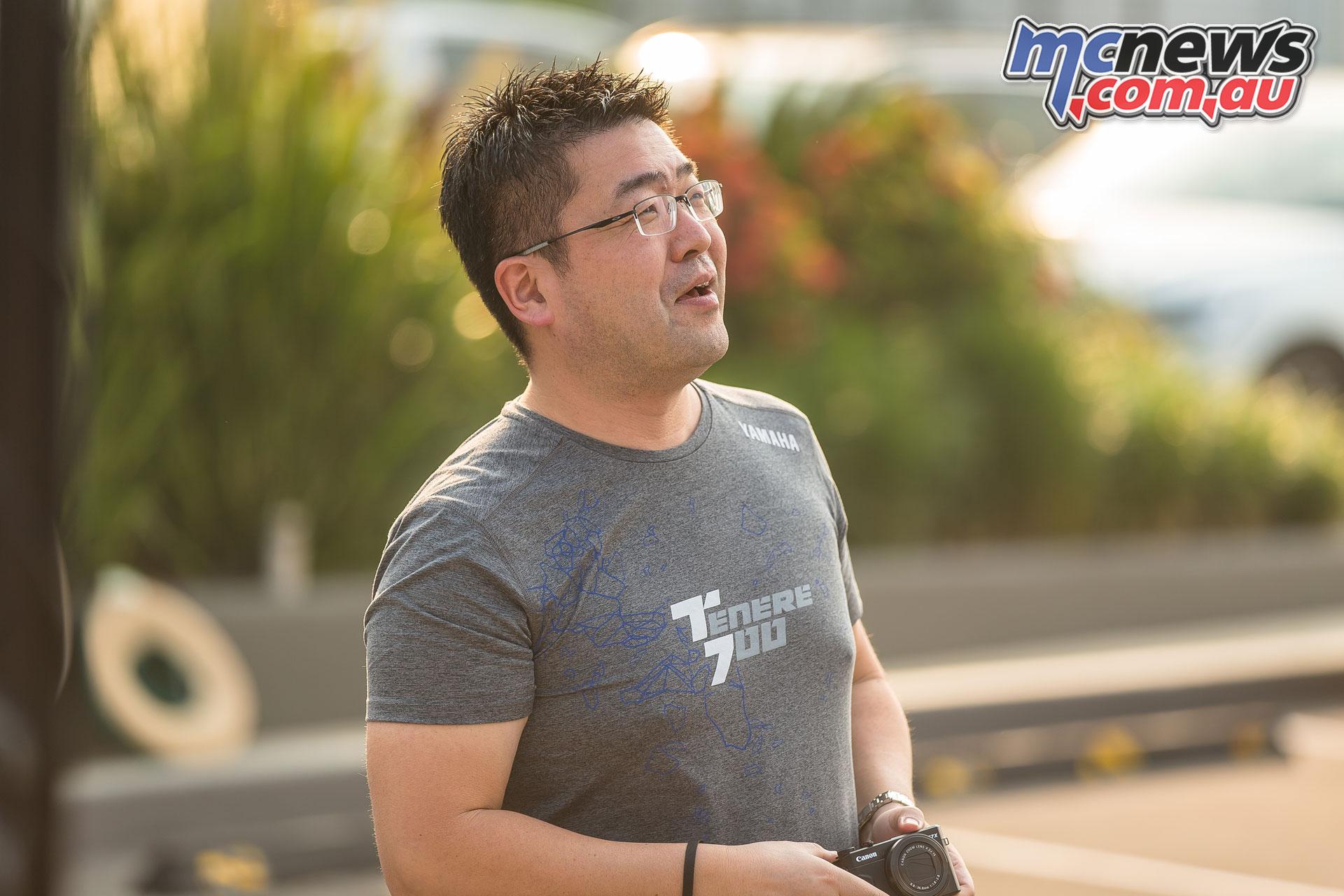 Takushio Shiraishi Yamaha Tenere Project Lead