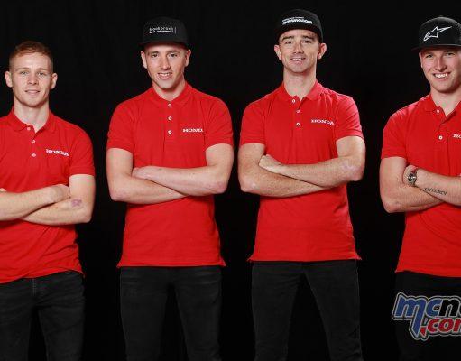 Team Honda BSB TT