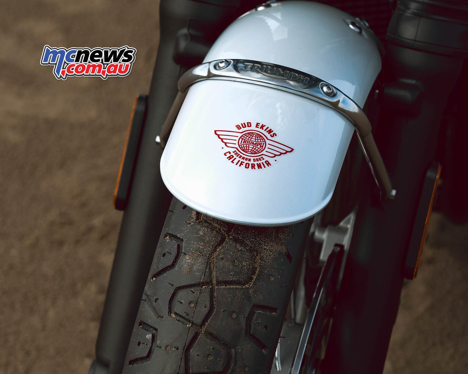 Triumph T Bud Ekins Special Mudguard