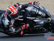WorldSBK Test Jerez Thursday Action Rea