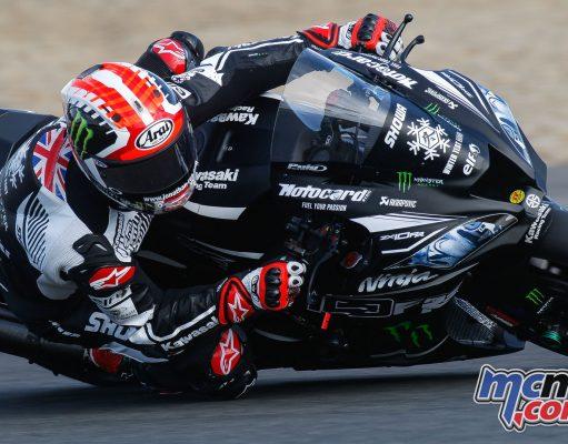 WorldSBK Test Jerez Thursday Action Rea
