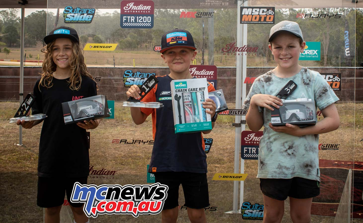 Sultans Of Slide cc Series Podium Sam Drane Muddle Clark