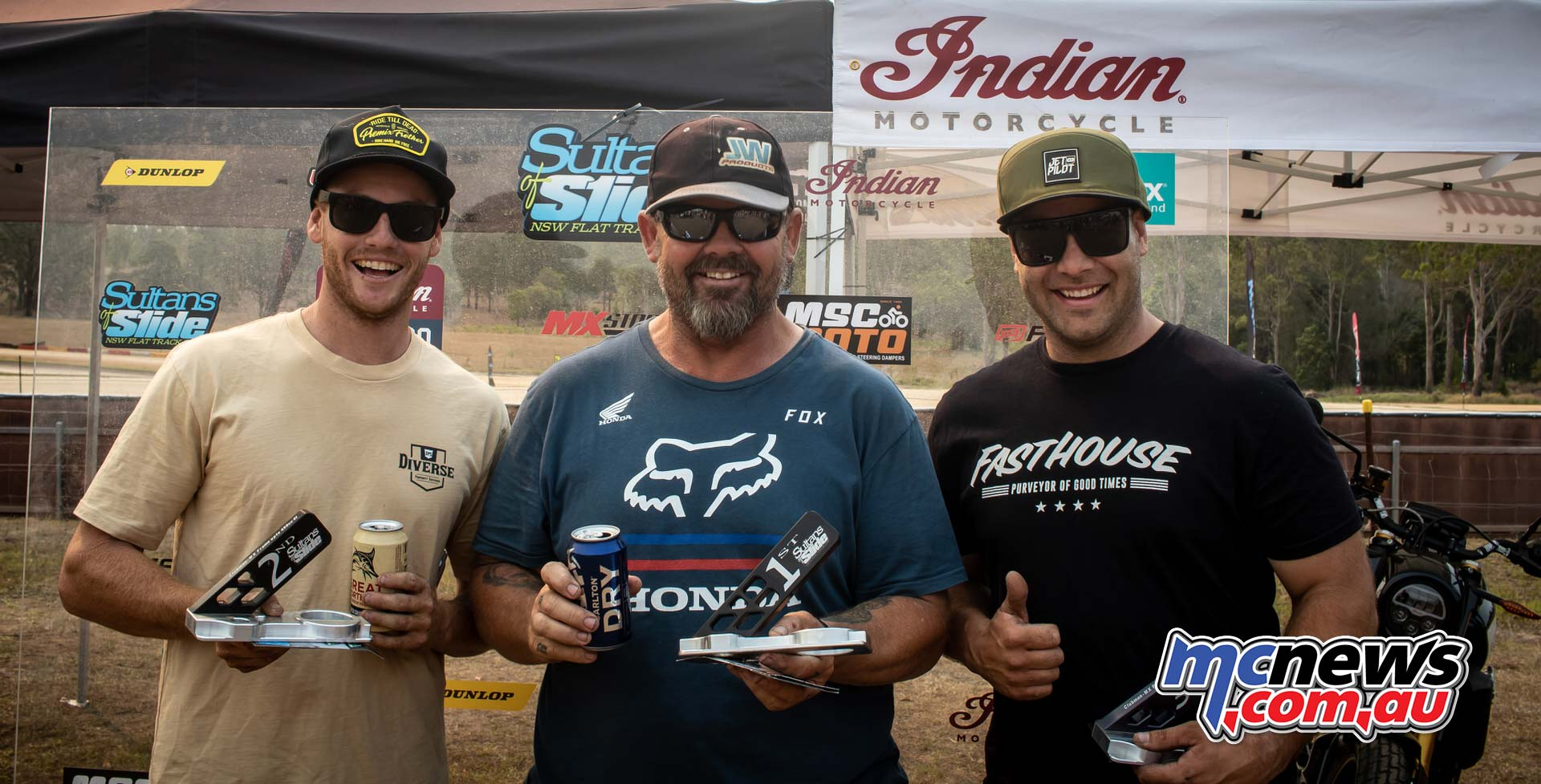 Sultans Of Slide Clubman Series Podium Jason Griffin Jarvis Statham