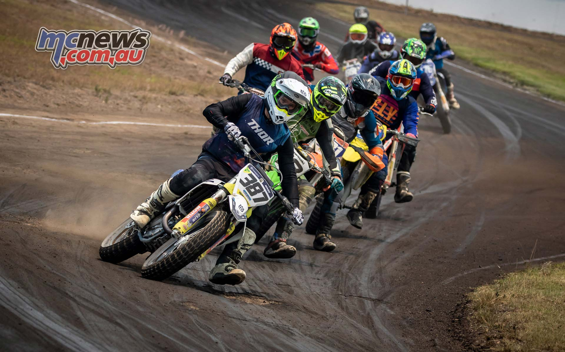 Sultans Of Slide Kirkness leads MX