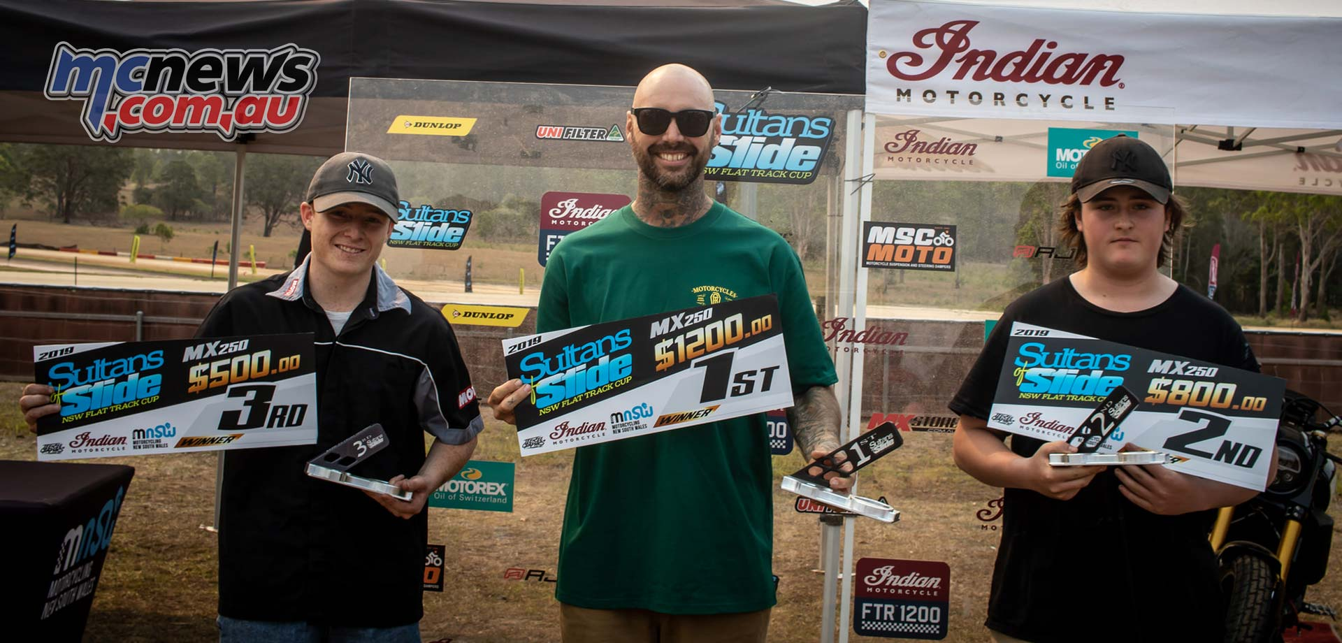 Sultans Of Slide MX Series Podium Daniel Yarnold Loveday Sawdy