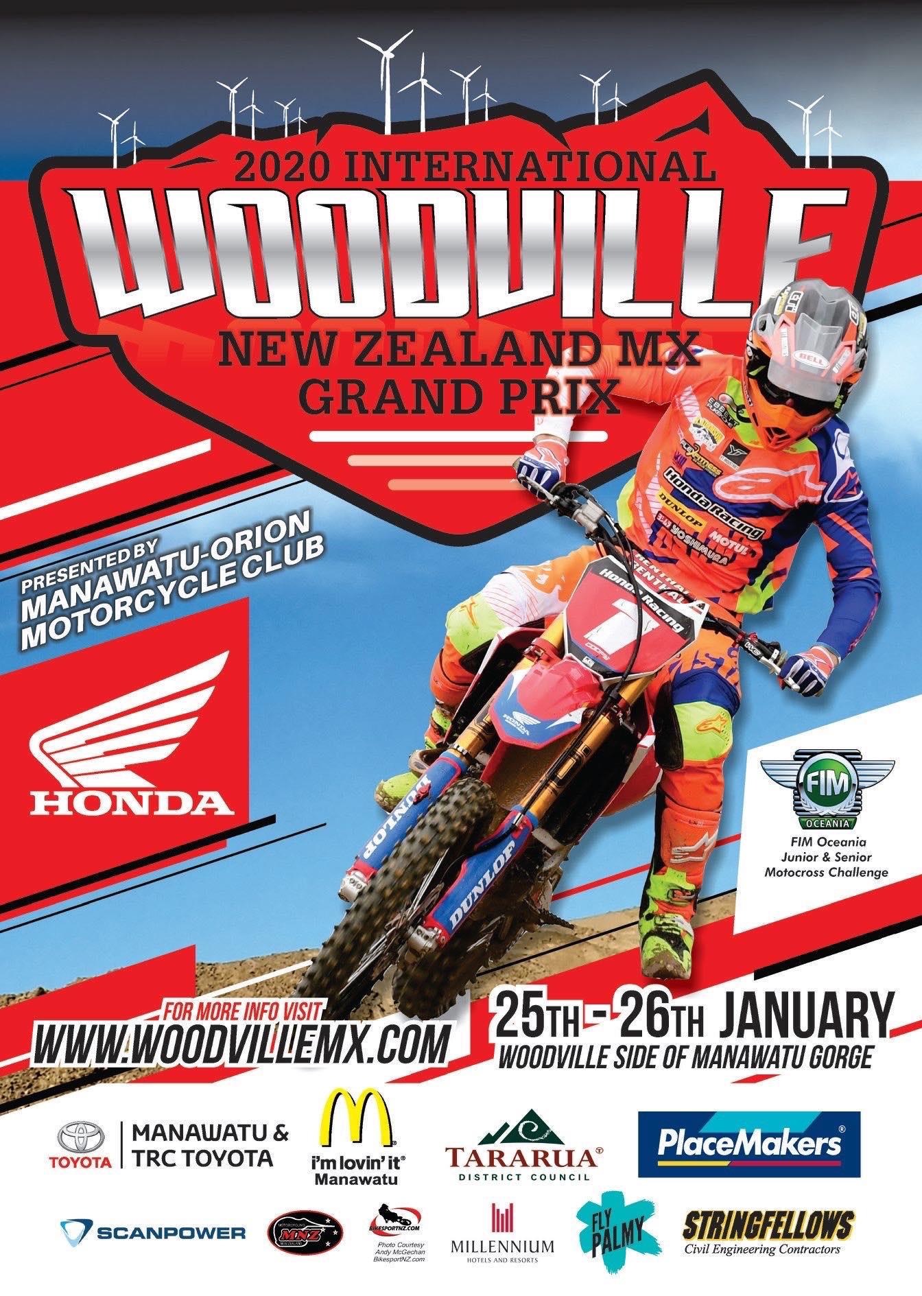 International Woodville New Zealand MX GP