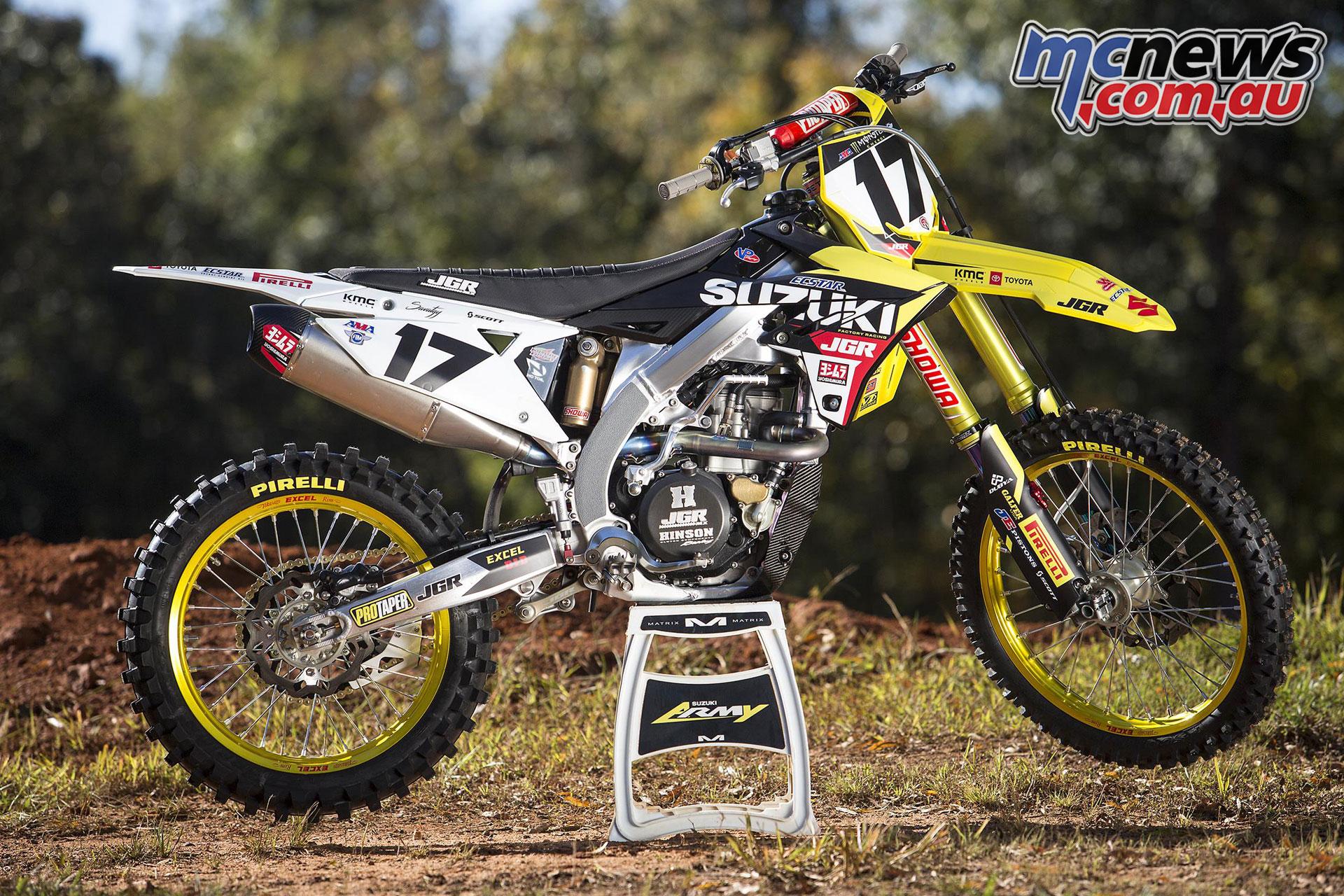JGRMX Yoshimura Suzuki Factory Racing ama mx savatgy rmz