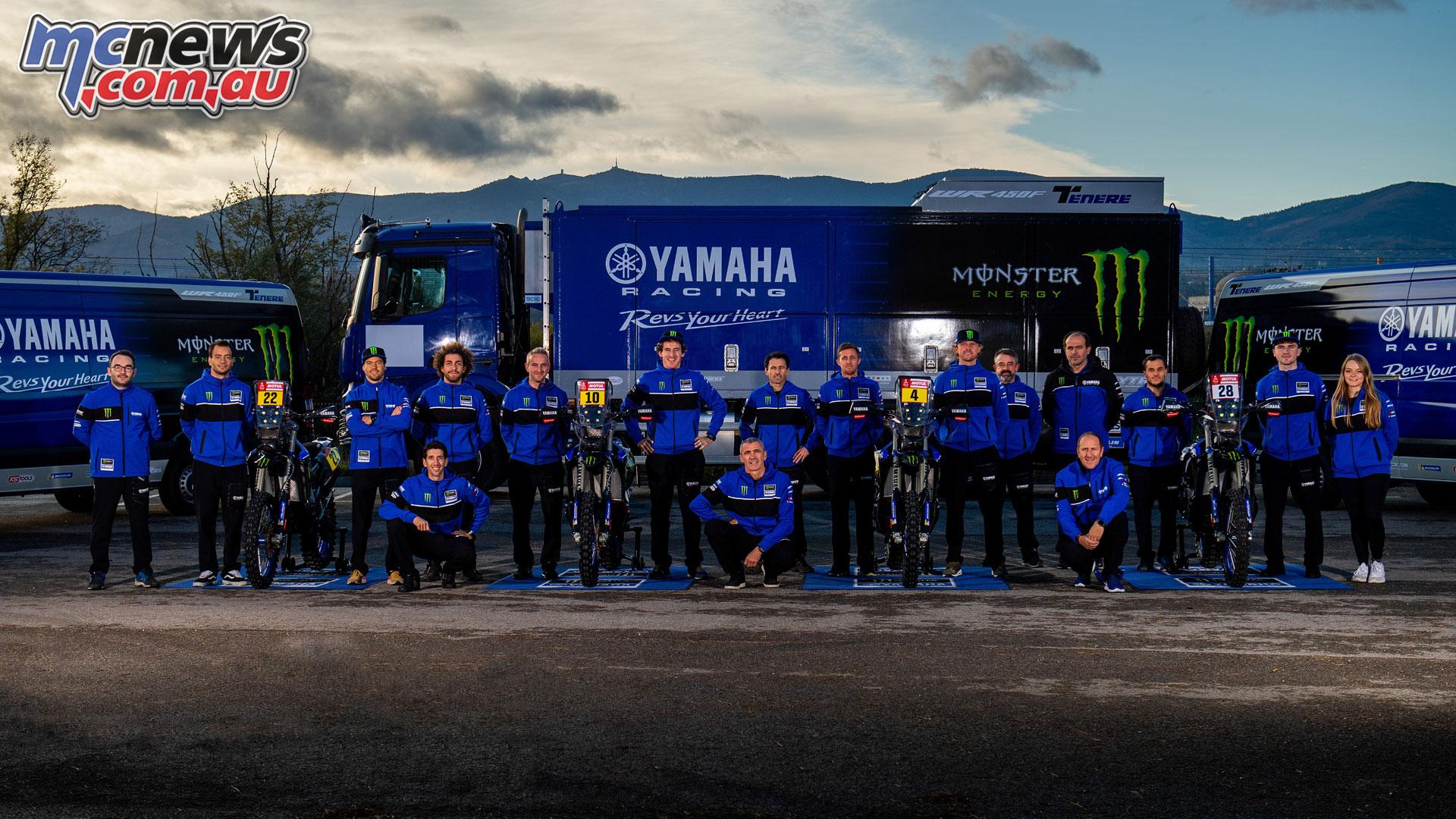 Monster Energy Yamaha Rally Team