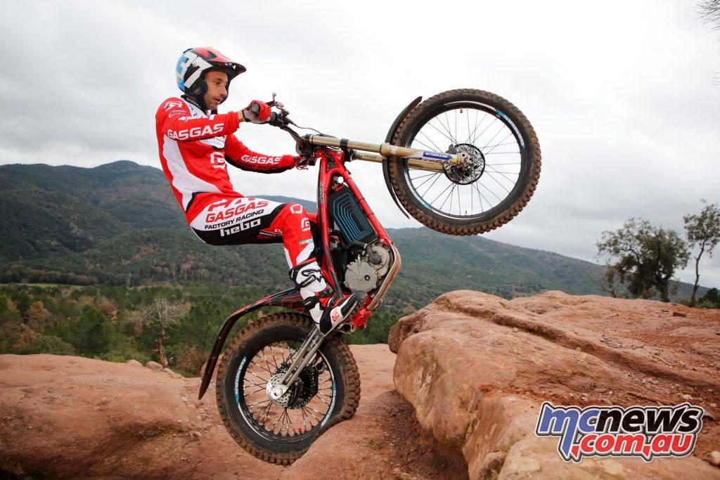 Albert Cabastany GasGas Factory Racing GasGas TXE