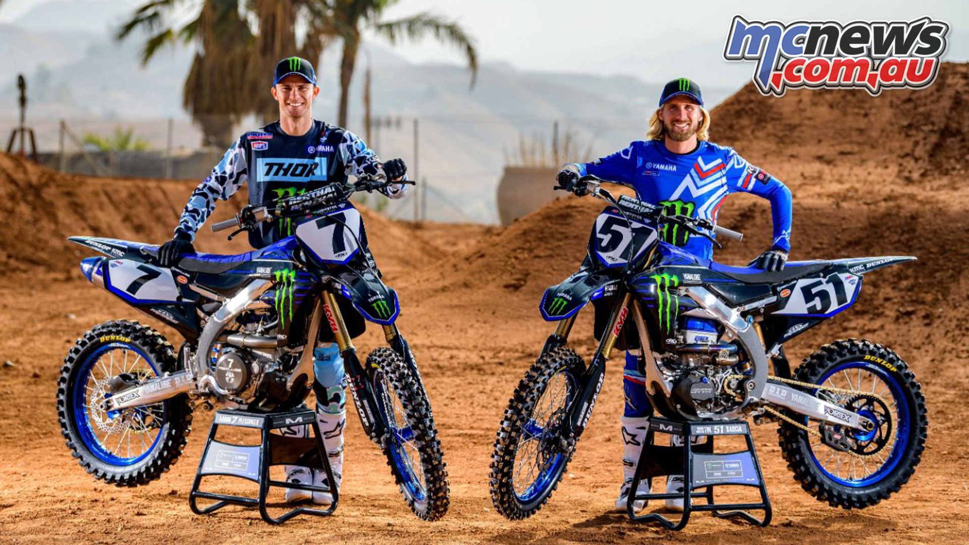 Barcia Plessinger with Yamaha Factory Racing in