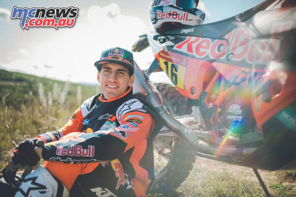 Dakar Preview Luciano Benavides KTM RALLY