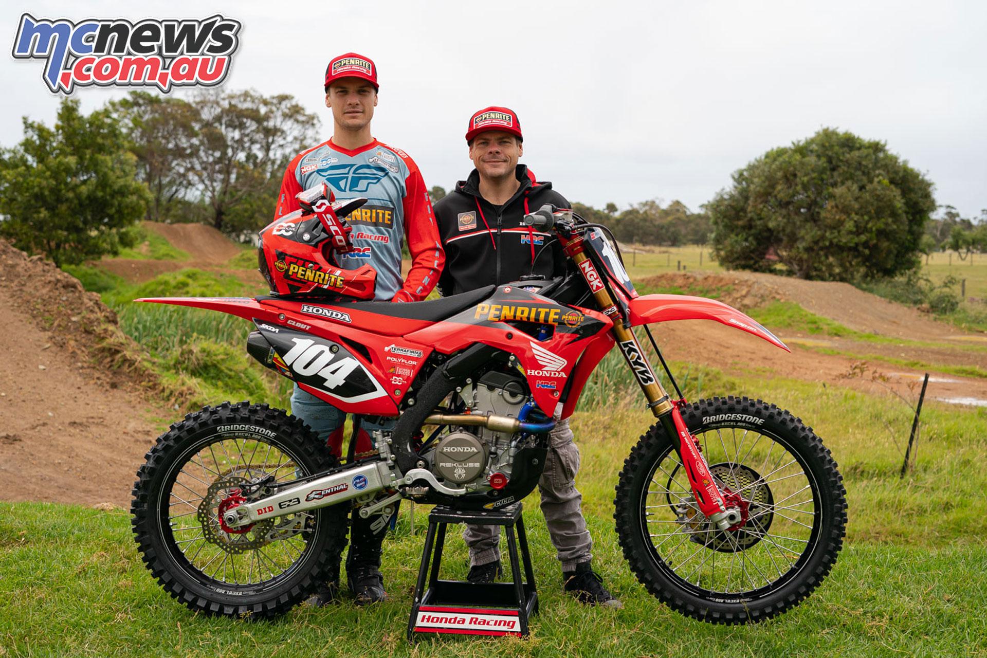 Luke Clout Penrite Honda Racing