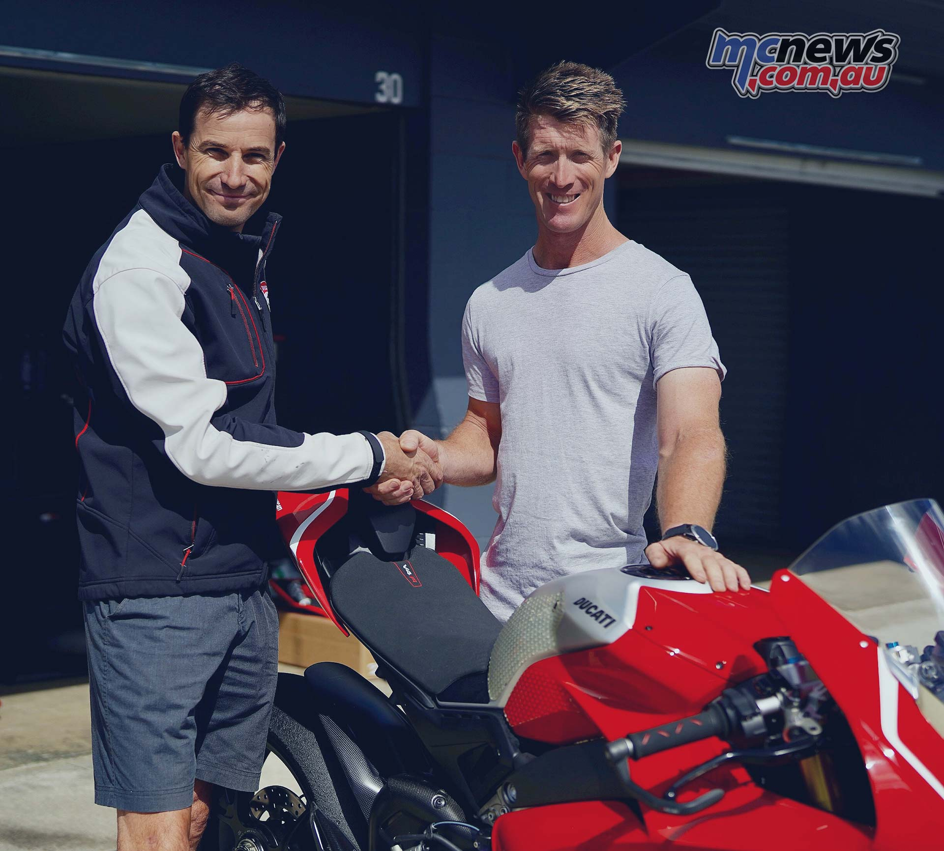 Wayne Maxwell Craig McMartin Ducati ASBK