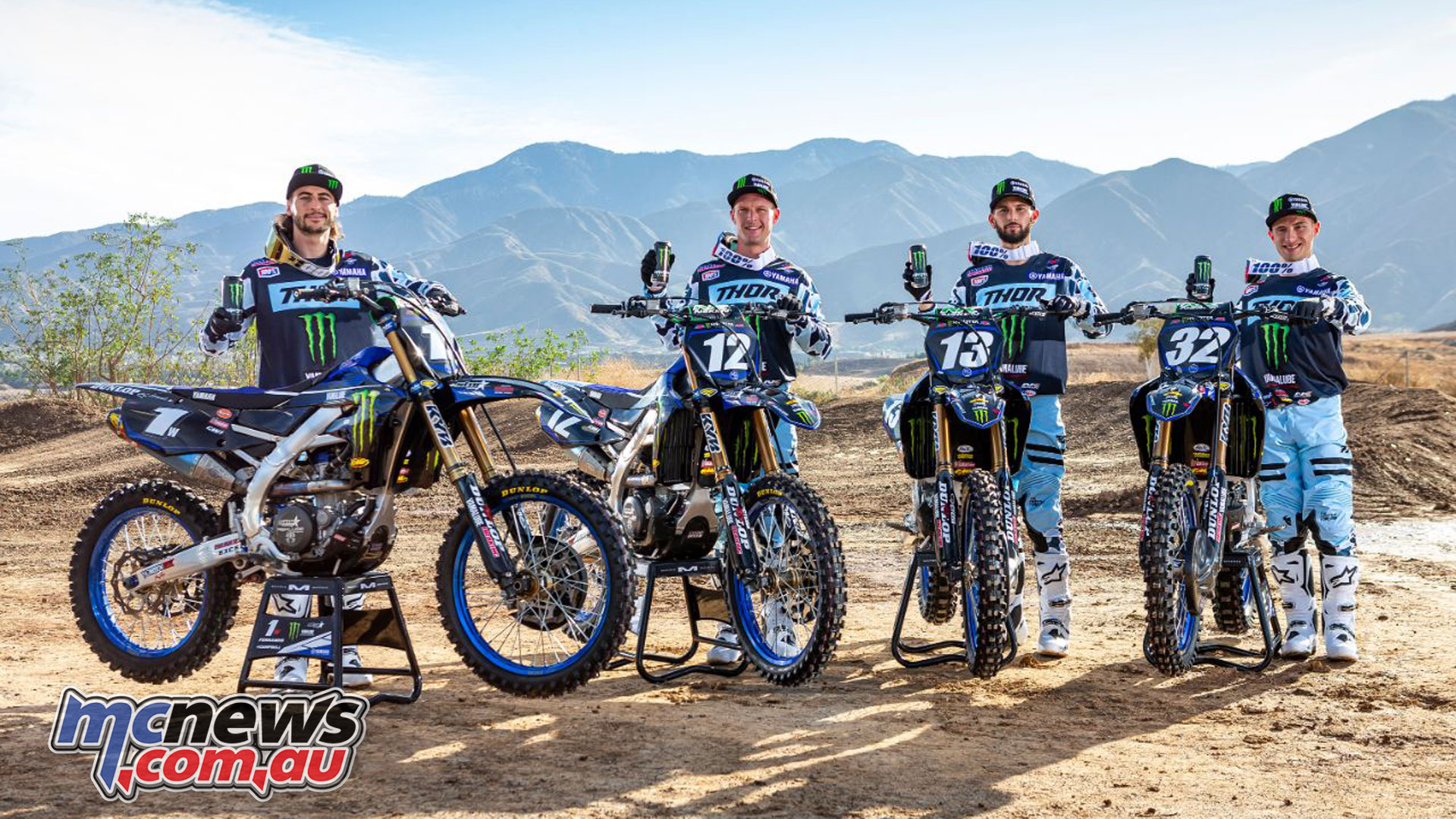 onster Energy Star Yamaha Racing announce SX line up