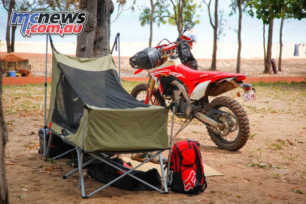 Daryl Beattie Adventures Cape Cairns Camping Beach CRFL