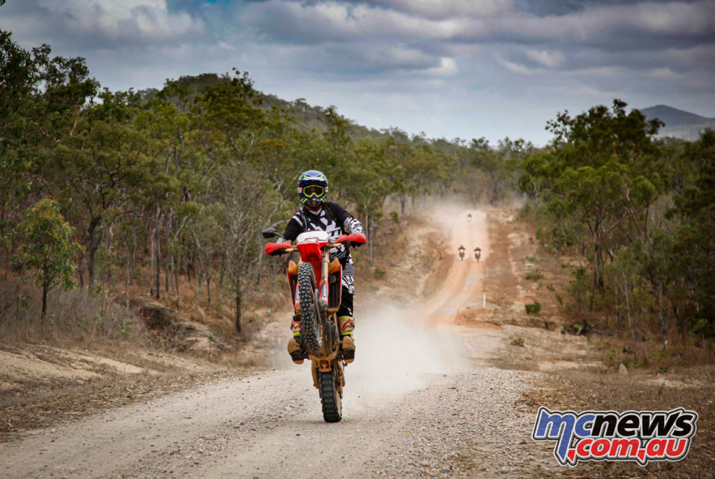 Daryl Beattie Adventures Cape Cairns CRF wheelie