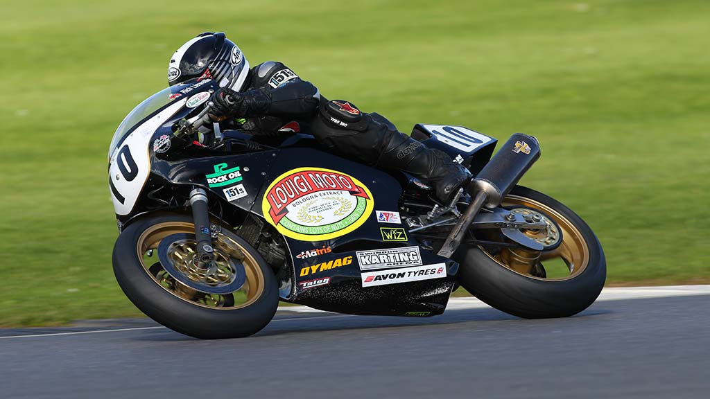 Rich Llewellin on the Ducati Veetwo he will campaign at Int Challenge
