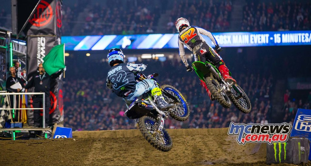 AMA SX Rnd A Forkner Cooper Multiple SX Rd Kardy