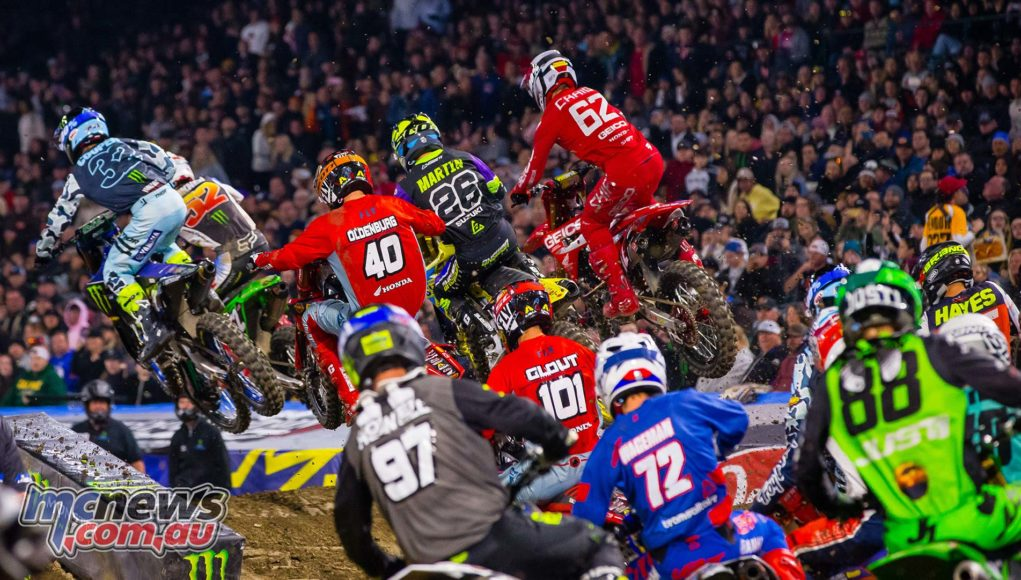 AMA SX Rnd A Starts SX Rd Kardy Cover