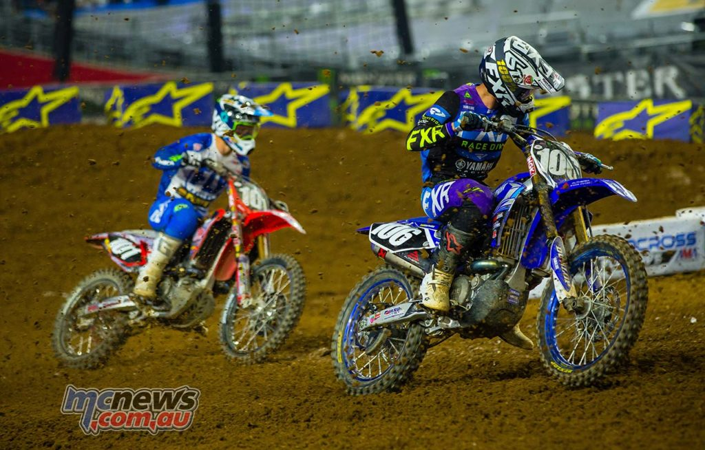 AMA SX Rnd Glendale Jay Wilson Clout Multiple SX PHX Kardy
