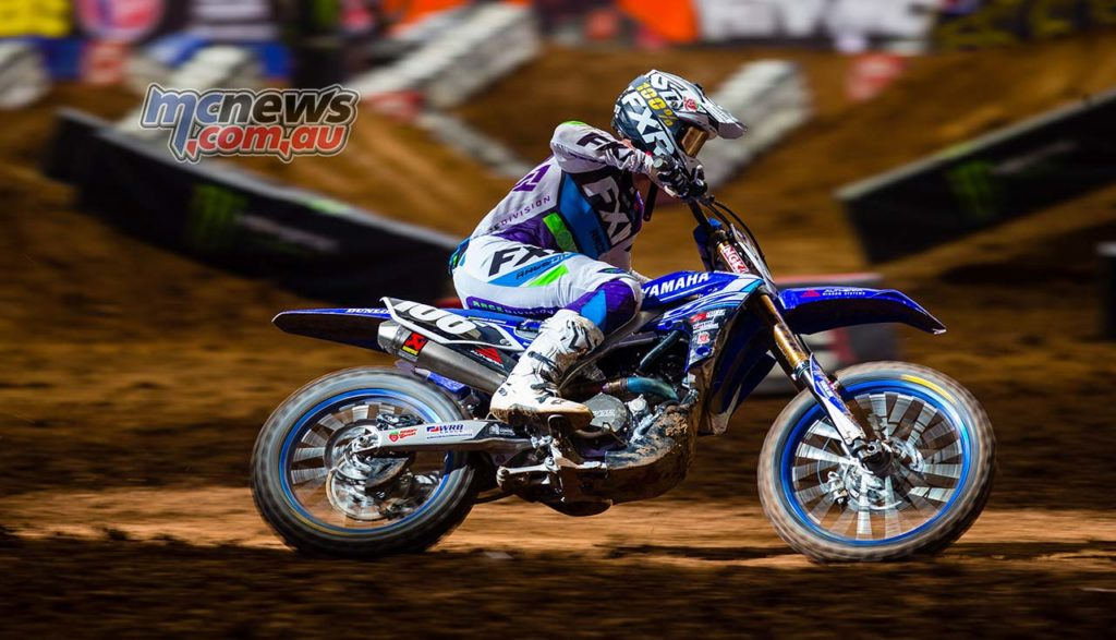 AMA SX Rnd Glendale Jay Wilson Privateers SX PHX Kardy