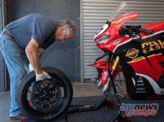 ASBK Test Phillip Island RbMotoLens ASBK Test SBK Troy HERFOSS bike Jeremy Burgess