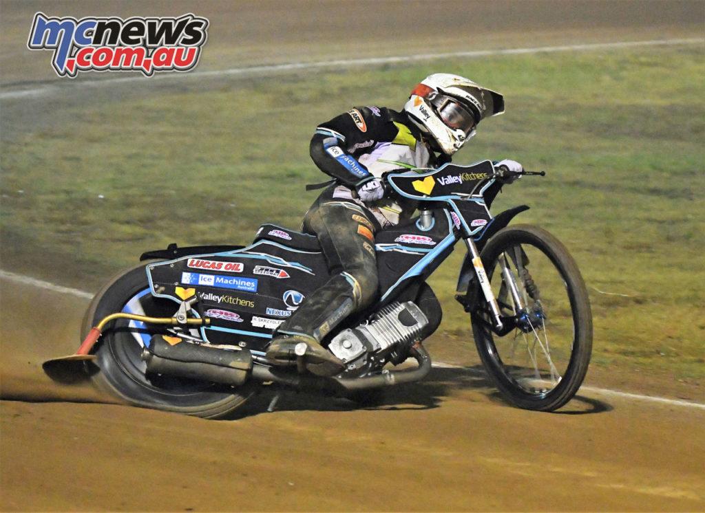 Australian Solo Senior Speedway Round Rohan Tungate