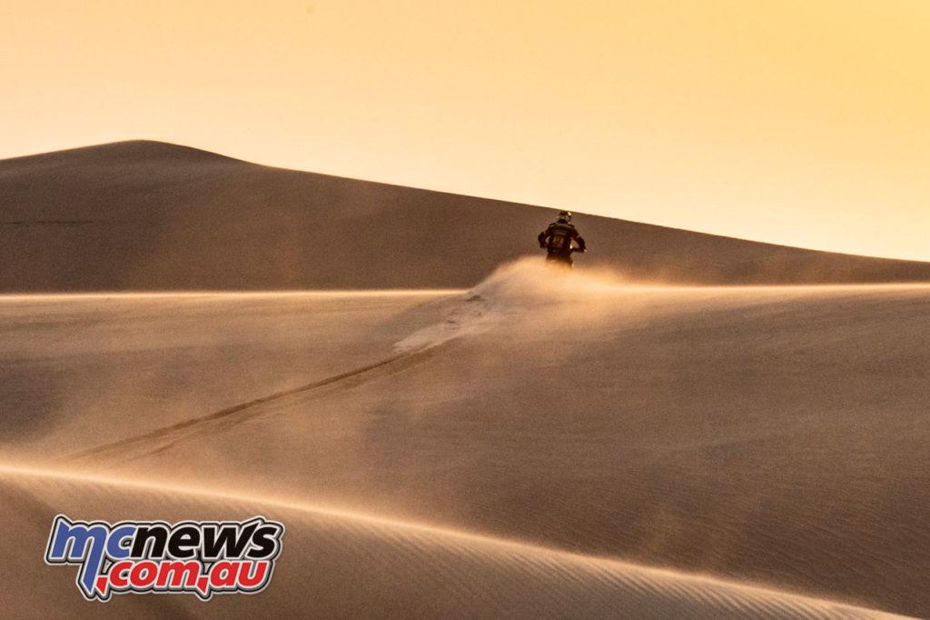 Dakar Rally Stage Joan Barreda