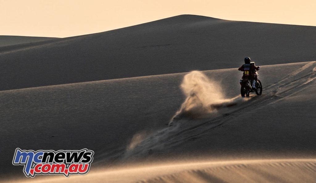 Dakar Rally Stage Kevin Benavides