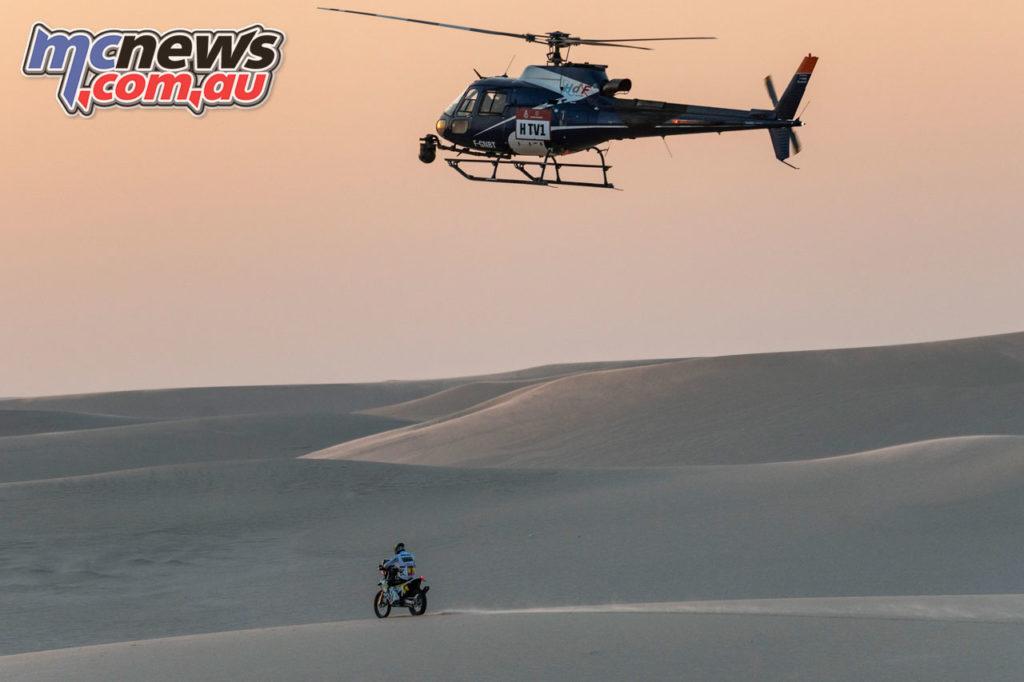 Dakar Rally Stage Pablo Quintanilla