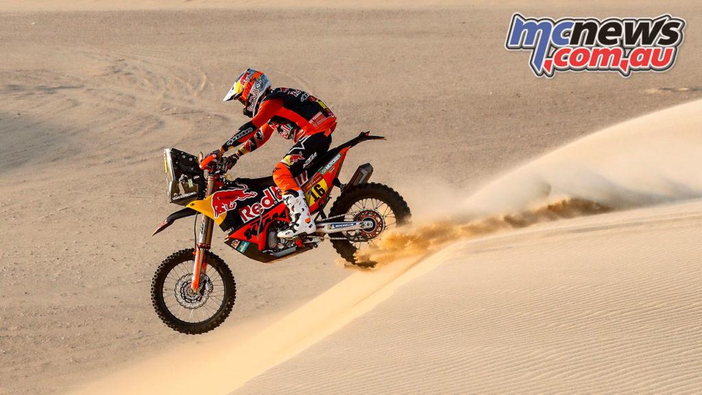 Dakar Rally Stage Luciano Benavides