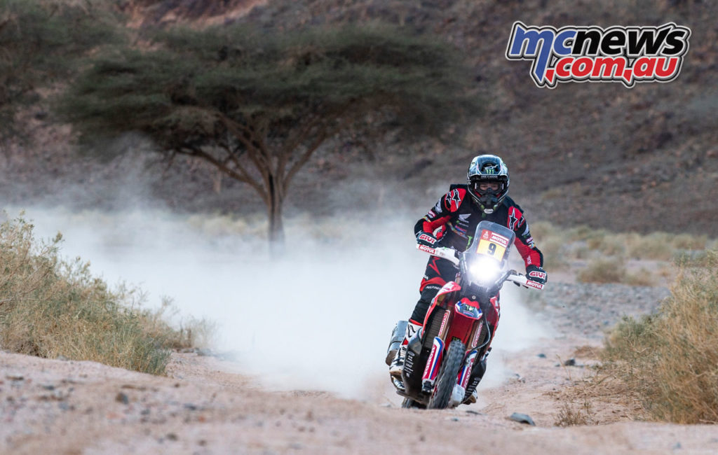 Dakar Rally Stage Ricky Brabe