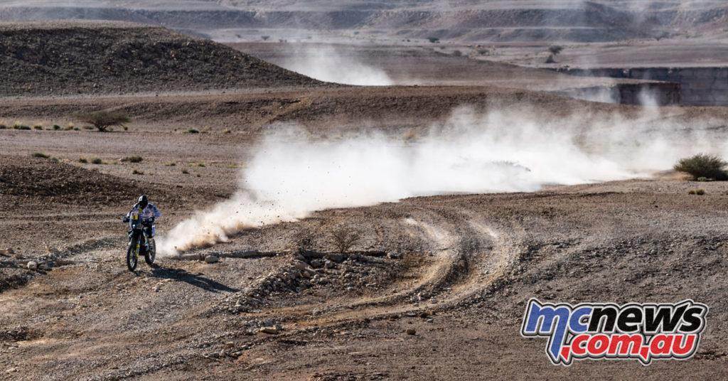 Dakar Rally Stage Pablo Quintanilla Husqvarna Factory Racing