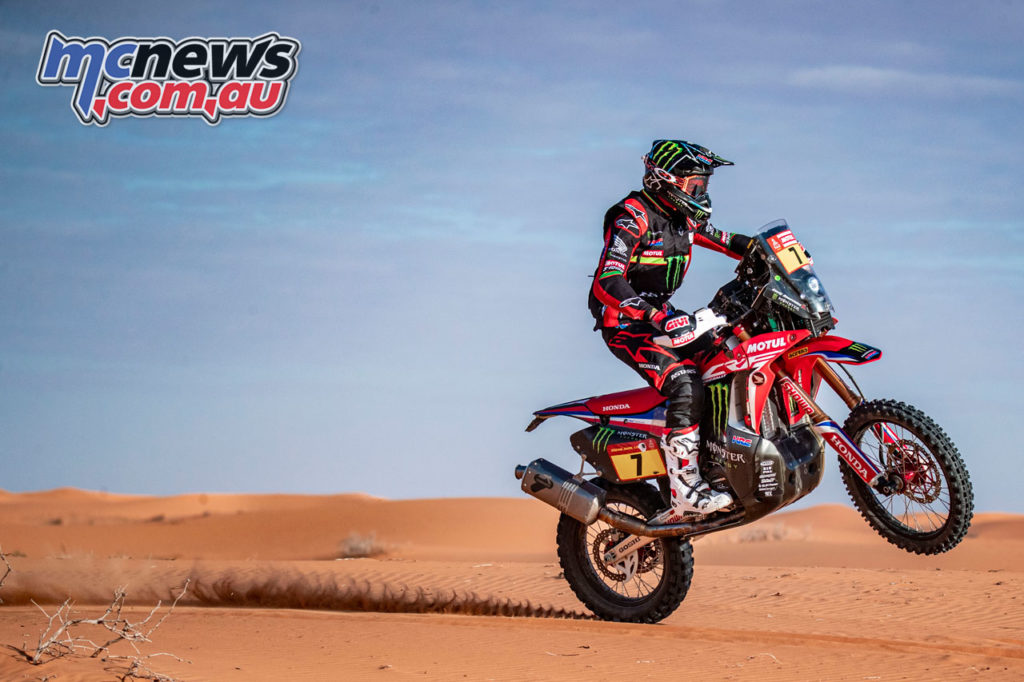 Dakar Rally Stage Kevin Benavides ABI