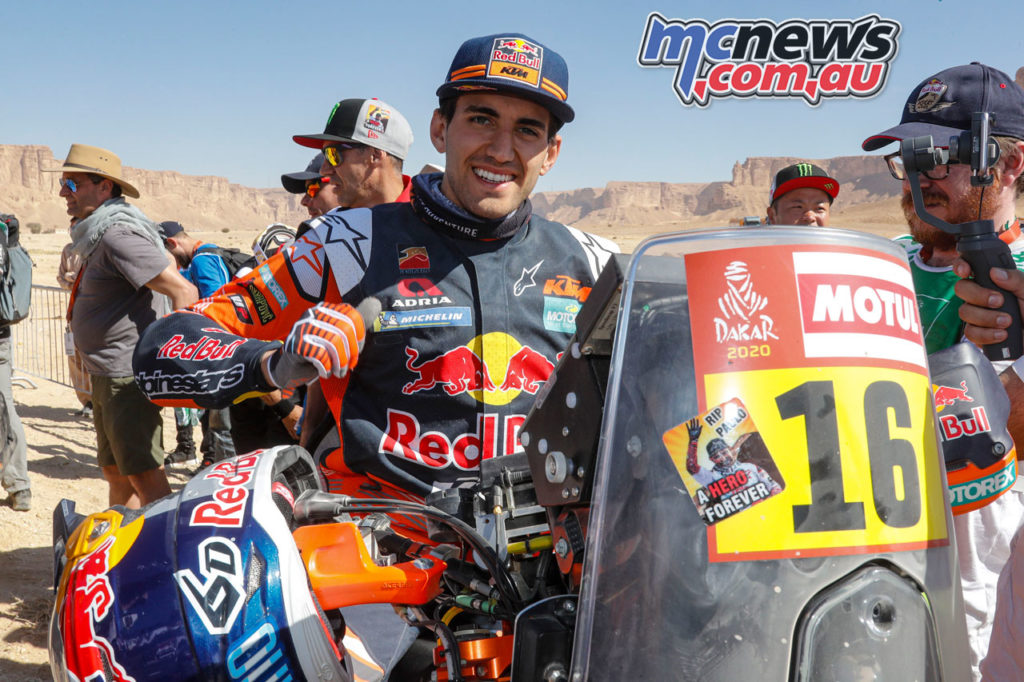 Dakar Rally Stage Luciano Benavides KTM RALLY Dakar Rally