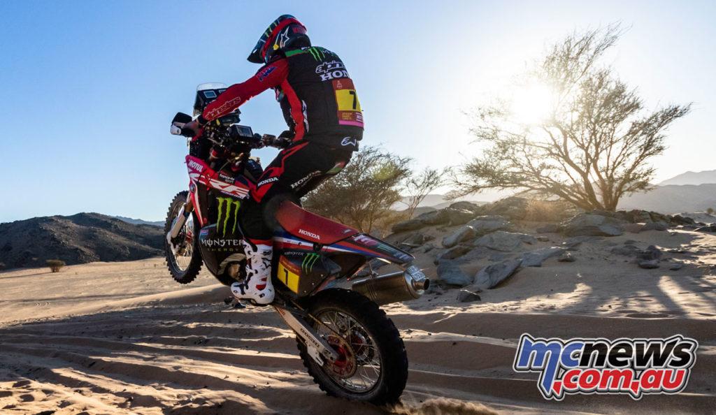 Dakar Rally Stage Kevin Benavides rallyzone