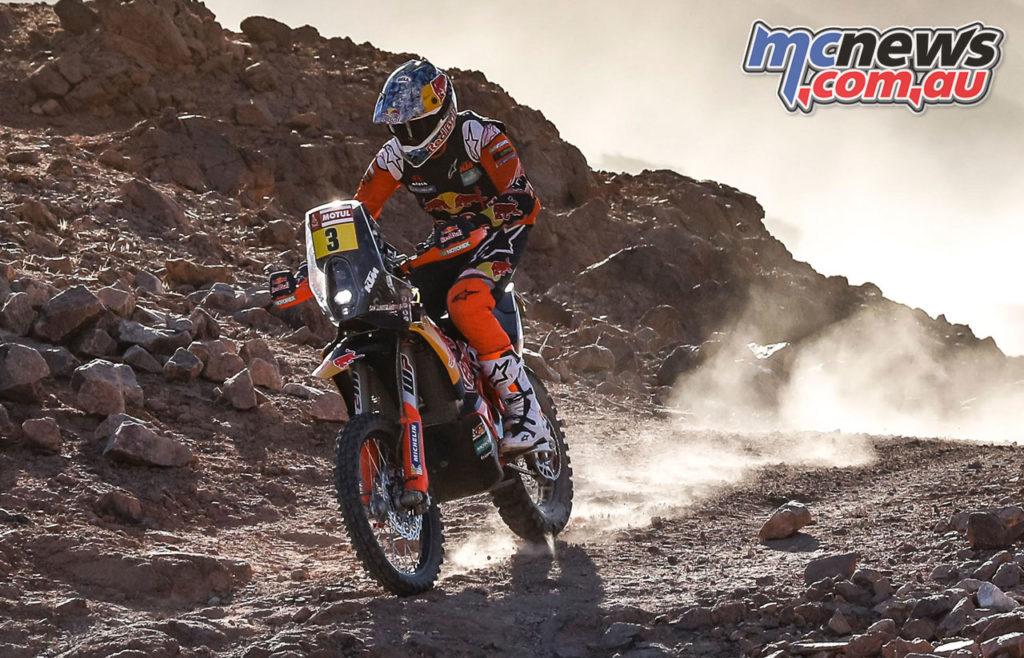 Dakar Rally Stage Sam Sunderland