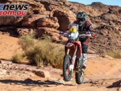 Dakar Rally Stage Ricky Brabec cover