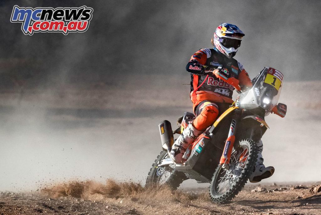 Dakar Rally Stage Toby Price