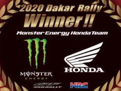Dakar Ricky Honda Win