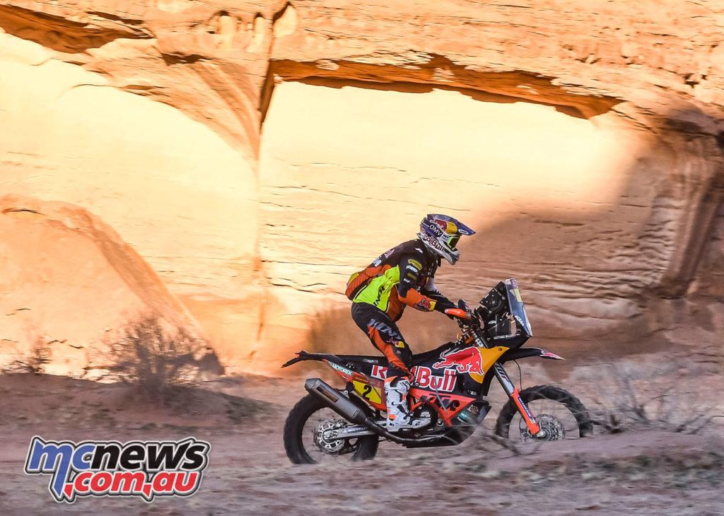 Dakar Stage Matthias Walkner KTM RALLY Dakar Rally