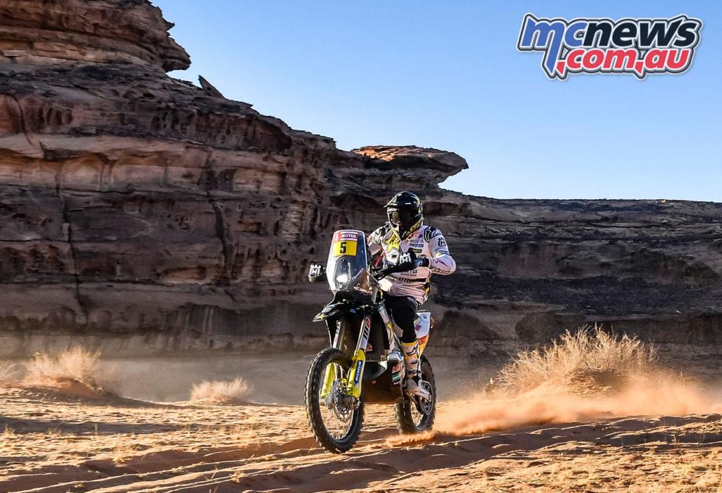 Dakar Stage Pablo Quintanilla Rockstar Energy Husqvarna Factory Racing