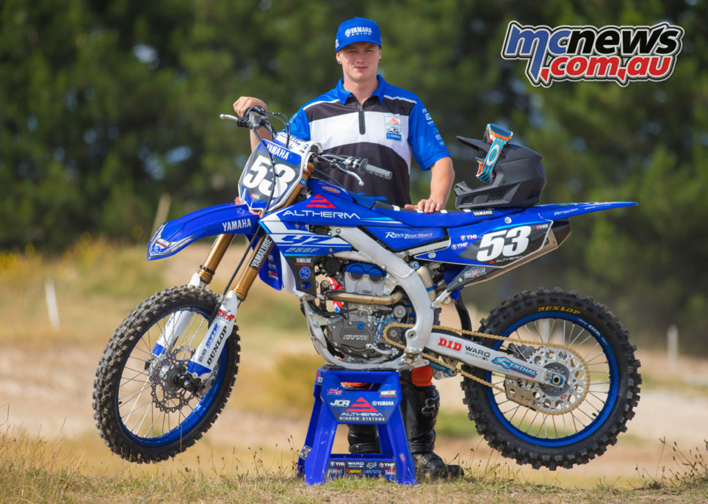 Dylan Walsh signs with BTT and Altherm JCR Yamaha