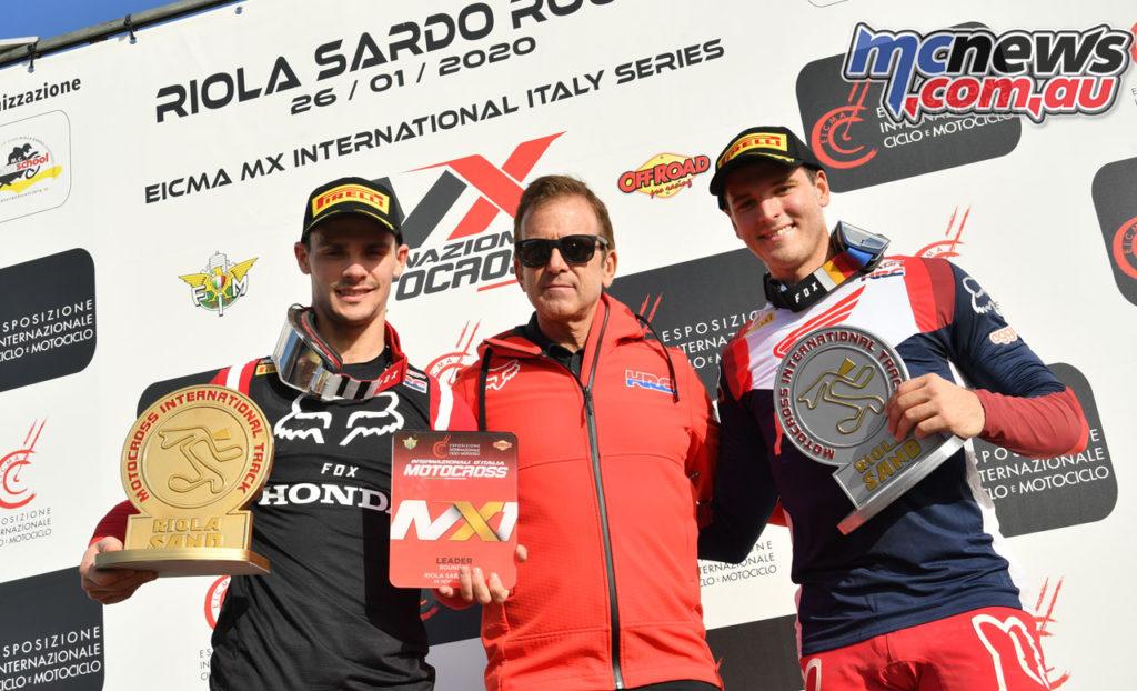 Italian MX Rnd Riola Sardo Tim Gajser