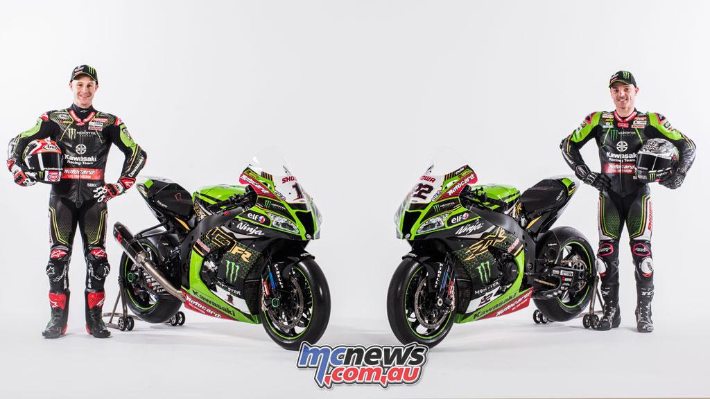 KRT Kawasaki Racing Team WSBK Reveal Rea Lowes