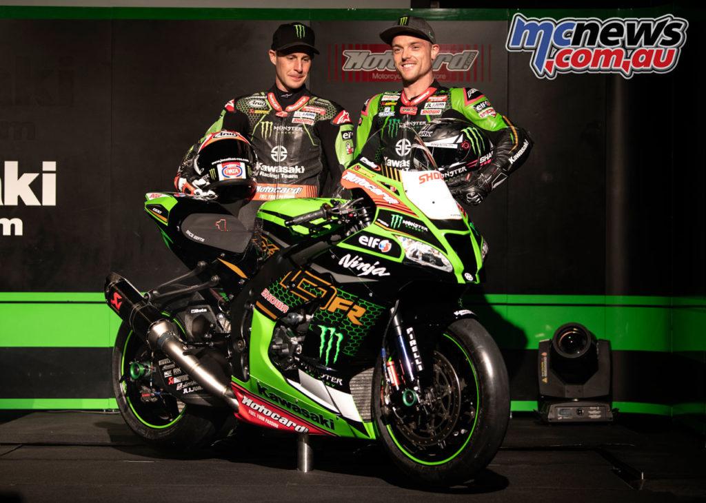KRT Kawasaki Racing Team WSBK Reveal Team Launch GB