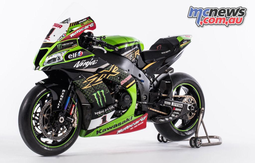 KRT Kawasaki Racing Team WSBK Reveal ZX R Rea
