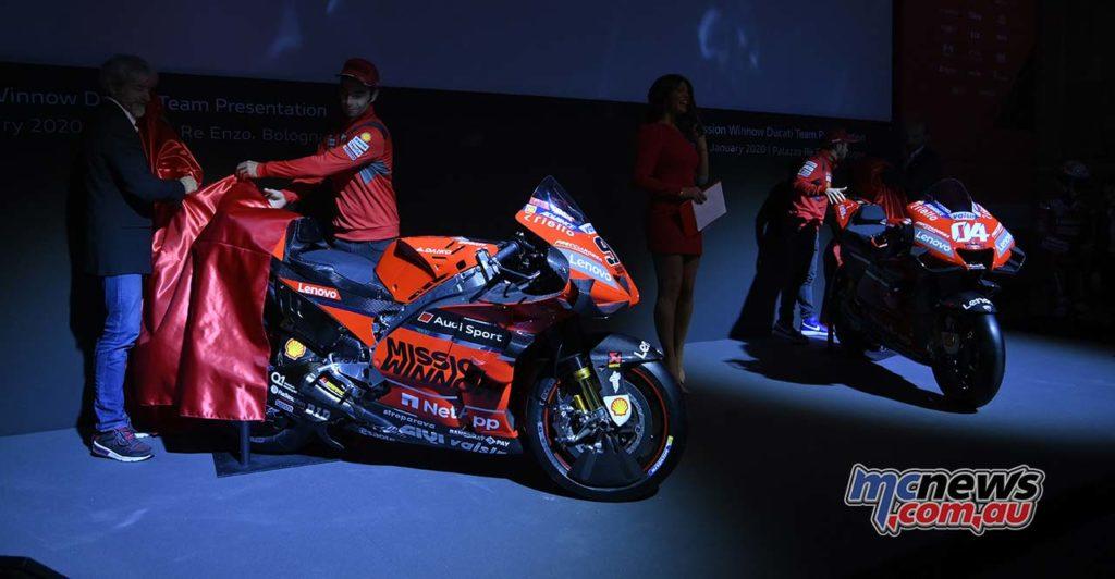 MotoGP Ducati Launch Desmosedici Reveal