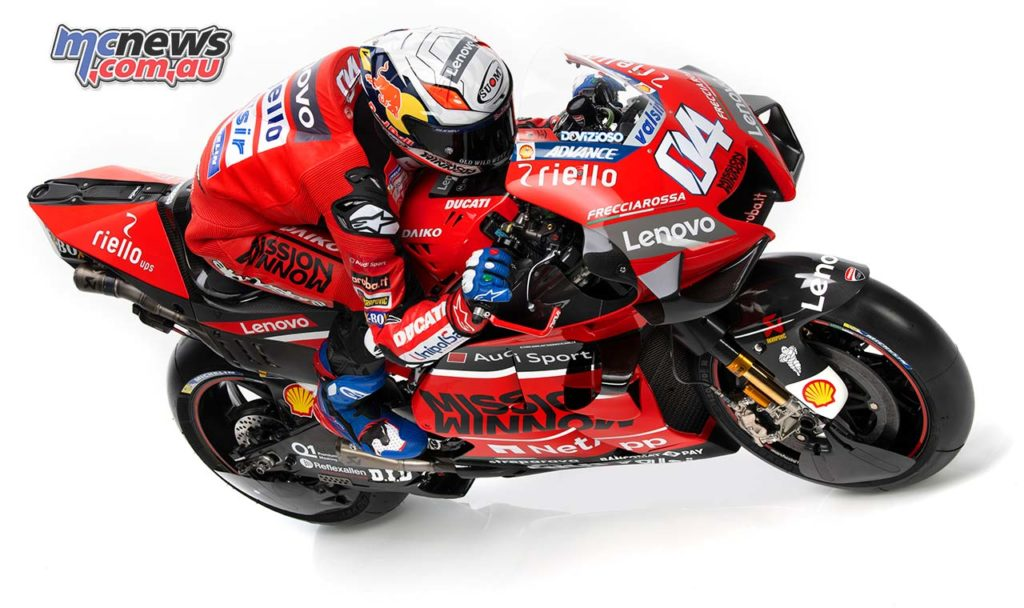 MotoGP Ducati Launch Dovizioso